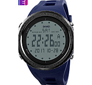 SKMEI Men's Sport Watch Digital Watch Digital PU Band Black Blue Green Grey