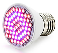 abordables -1500-1800lm E27 Growing Light Bulb 60 Cuentas LED SMD 3528 Azul Rojo 85-265V