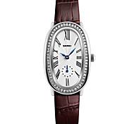 cheap -SKMEI Women's Fashion Watch Wrist watch Simulated Diamond Watch Japanese Quartz Water Resistant / Water Proof Leather Band Luxury Elegant