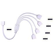 Недорогие -1шт. Hkv® светодиодный коннектор для лампы rgb цветная ламповая панель управления с 1 по 4 разъем