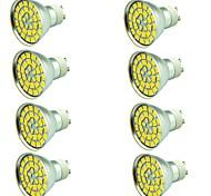 8 pcs 5W LED Spotlight 55 leds SMD 5730 Decorative Warm White Cold White 800lm 3000-7000K AC 12V