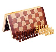 cheap -Chess Game Chess Educational Toy Stress Relievers Rectangular Square Wooden Wood Children's Unisex Gift