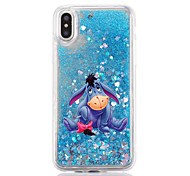 For iPhone X iPhone 8 Case Cover Flowing Liquid Transparent Pattern Back Cover Case Cartoon Hard Plastic for Apple iPhone X iPhone 8 Plus