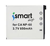 Недорогие -ismartdigi cnp60 3.7v 850mah аккумулятор для камеры np-60 z20 z29 fs10 s12 z80 z90