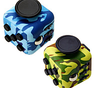 cheap -Camouflage Fidget Cube Finger Hand Top Magic Squeeze Puzzle Cube Work Class Home EDC ADD ADHD Anti Anxiety Stress Reliever 1Pc