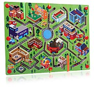 Недорогие -Кубики-головоломки Лабиринты и логические головоломки Лабиринт Игры для отцов Магнитный лабиринт Устройства для снятия стресса Обучающая