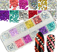 cheap -1pcs Glitter / Art Deco / Retro / Nail Jewelry Glitters / Artistic / Fashionable Jewelry Creative / Lovely Daily