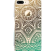For iPhone X iPhone 8 Case Cover Pattern Back Cover Case Lace Printing Soft TPU for Apple iPhone X iPhone 8 Plus iPhone 8 iPhone 7 Plus