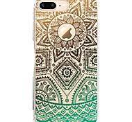 Назначение iPhone X iPhone 8 Чехлы панели С узором Задняя крышка Кейс для Кружева Печать Мягкий Термопластик для Apple iPhone X iPhone 8