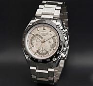 CHENXI® Муж. Наручные часы Кварцевый Японский кварц Повседневные часы Нержавеющая сталь Группа Серебристый металл