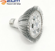 7W E26/E27 LED Spotlight PAR30 7 leds High Power LED Warm White/Cold White/Natural White 3000lm 3000K AC 85-265V
