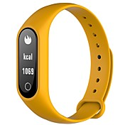 cheap -HHY New Y2S Smart Wearable SPORTS BRACELET Caller Information Reminding Movement Step Counting Waterproof Heart Rate Monitoring