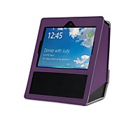 cheap -Solid Litchi Pattern Card with Stand Flip Hand Draw PU Leather Case for Amazon Echo Show