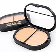 cheap -2 Powder Concealer/Contour Pressed Powder Matte Mineral Pressed powder Long Lasting Face Cruelty Free Alcohol Free