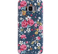 cheap -Case For Samsung Galaxy Pattern Back Cover Flower Soft TPU for S8 Plus S8 S7 edge S7 S6 edge plus S6 edge S6 S6 Active S5 Mini S5 Active
