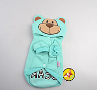 Dog Costume Dog Clothes Fashion Bear Blue Pink Costume For Pets