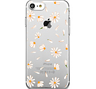 cheap -Case For Apple iPhone X iPhone 8 Pattern Back Cover Tile Flower Soft TPU for iPhone X iPhone 8 iPhone 7 Plus iPhone 7 iPhone 6s Plus