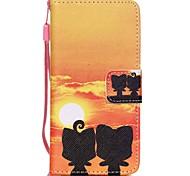 чехол для Apple ipod touch5 / 6 чехол чехол карта держатель кошелек с подставкой флип-паттерн полный корпус чехол ali hard pu кожа