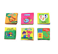 Educational Flash Cards Toys Square Unisex Pieces