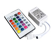 cheap -12V Controller Infrared 24 Key RGB 7 Color Lamp With Hard Light Bar 3528 5050 Module IR44 Key Remote Control