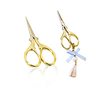 Nail Art DIY Scissors Nail Art Tool Accessory Golden Multifuntion Scissors