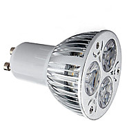 economico -1pc 9W 600lm GU10 Faretti LED 3 Perline LED LED ad alta intesità Decorativo Bianco caldo Luce fredda 85-265V