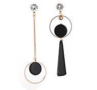 Women's Mismatch Earrings Obsidian Fashion Mismatch Resin Alloy Geometric Jewelry For Daily Date