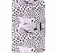cheap -Case For Samsung Galaxy Full Body Cases Tablet Cases Leopard Leopard Print Hard PU Leather for Tab A 10.1 (2016)