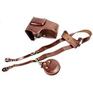Недорогие -dengpin pu кожаная сумка для чехлов для канона eos 200d 18-55mm объектив (различные цвета)