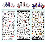 abordables -Modèle d'estampage d'ongles Nail Art Design Quotidien Mode Haute qualité