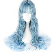 Sweet Lolita Blue Lolita Lolita Wig 65cm CM Cosplay Wigs Wig For