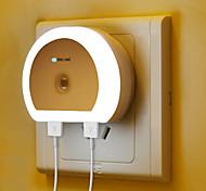baratos -BRELONG® 1pç Wall Light Nightlight Branco De cabeceira Com porta USB