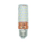 Недорогие -BRELONG® 1 ед. 16W 1300 lm E27 LED лампы типа Корн 84 светодиоды SMD 2835 Тёплый белый Белый Двойной цвет источника света AC 220-240V