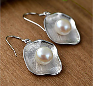 cheap -Women's Pearl Pearl / Sterling Silver Stud Earrings / Drop Earrings - Fashion / Simple Style Silver Geometric Earrings For Daily / Casual