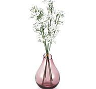 белый шелк ребенок дыхание букет 6 шт / много для цветочным узором и свадьба украшение