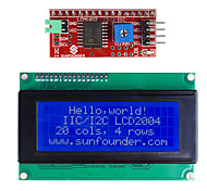 cheap -IIC / I2C Serial LCD 2004 Module Display for (For Arduino) (Works with Official (For Arduino) Boards)