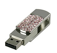 32G U Disk Crystal  Pen Drive  Pen Drive Jewelry Usb Flash Drive USB 2.0 Christmas Gift