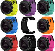 Недорогие -для suunto kailash 7r новейшие силиконовые ремешки для часов