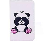 panda muster kartenhalter brieftasche mit stand flip magnetische pu ledertasche für samsung galaxy tab a 7.0 t280 t285 7.0 zoll tablet pc