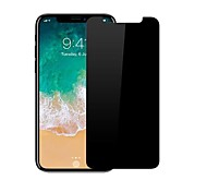 cheap -Screen Protector Apple for iPhone X Tempered Glass 1 pc Privacy Anti-Spy Scratch Proof 2.5D Curved edge 9H Hardness