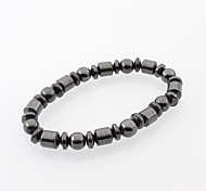 cheap -Men's / Women's Strand Bracelet - Drop Natural, Simple Style, Fashion Bracelet Black For Daily / Casual / Street