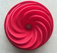 baratos -Ferramentas bakeware silica Gel Ferramenta baking / Natal / Faça Você Mesmo Para utensílios de cozinha / para Bread / para Chocolate Moldes de bolos 1pç