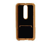 Case For X Style Shockproof Back Cover Solid Color Hard Bamboo for MOTO G4