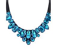 Women's Pendant Necklaces Multi-stone Rhinestone Geometric Drop Rhinestone Silk Fashion Personalized Jewelry For Valentine Going out