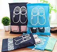 Недорогие -пластик Высокое разрешение Защита от царапин Туфли Главная организация, 1шт Мешки для обуви Ящики Мешки для хранения