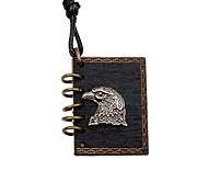 Муж. Жен. Ожерелья с подвесками Медальон Eagle Дерево Сплав Панк Сделай-сам Бижутерия Назначение На выход