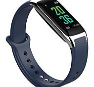 Недорогие -новый w18 bluetooth умный браслет сердечный ритм крови кислород кровяное давление контроль браслет различные спортивный режим android ios
