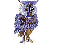 cheap -3D Puzzles Wood Model Model Building Kit Owl 3D Classic Fashion New Design Kids Hot Sale 1pcs New Owl Modern / Contemporary Houses Fashion