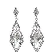 cheap -Women's Drop Earrings Cubic Zirconia Rhinestone Sexy Elegant Crystal Alloy Irregular Jewelry For Birthday Evening Party