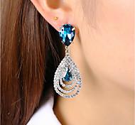 cheap -Women's Crystal Rhinestone Crystal Stud Earrings Drop Earrings - Classic Fashion Drop For Party Gift